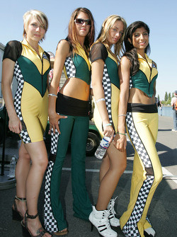 The charming Team Australia girls