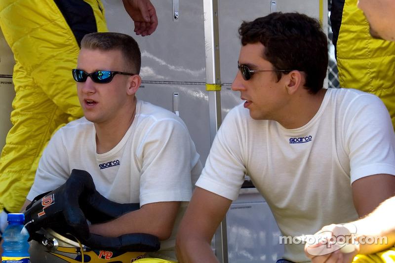 A.J. Allmendinger and Justin Wilson