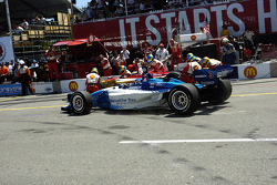 Pitstops for Sébastien Bourdais and Paul Tracy