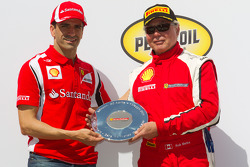 F430 podium: second place Rob Metka with Marc Gene