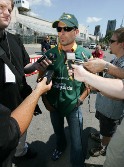 Molson Indy 2005 media event: Alex Tagliani