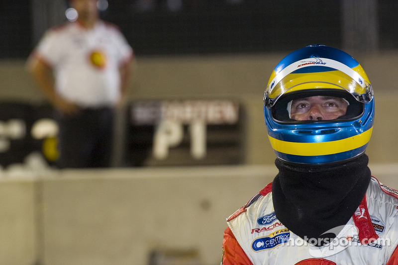 Un membre de l'équipe Newman Haas