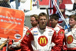 Sébastien Bourdais on the grid
