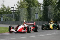 Oriol Servia and Will Power