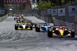 Sébastien Bourdais leads Paul Tracy