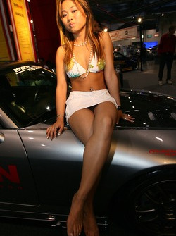 Grand Prix of Toronto Auto Expo: a lovely hostess