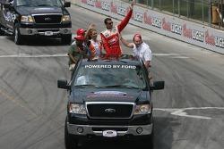 Drivers parade: Justin Wilson