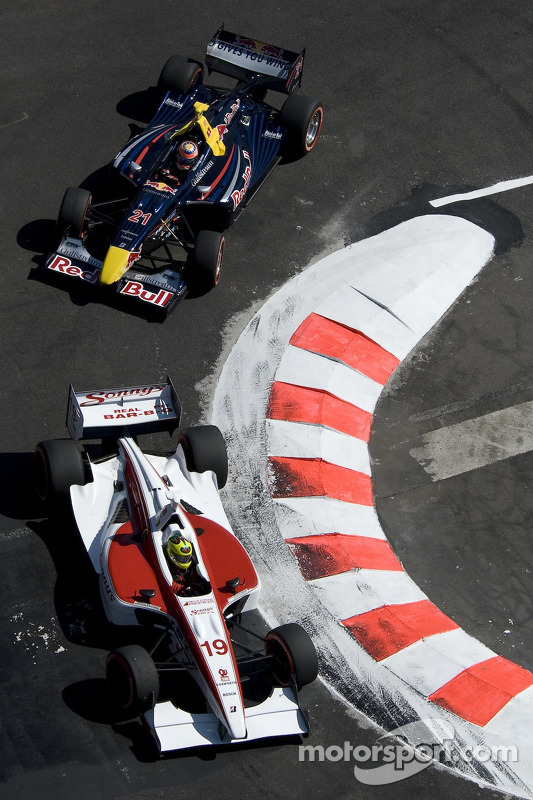 Bruno Junqueira and Neel Jani