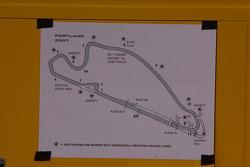 План траси в Портленді