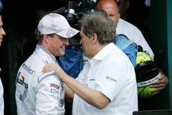 Third place Ralf Schumacher, Team HWA AMG Mercedes C-Klasse