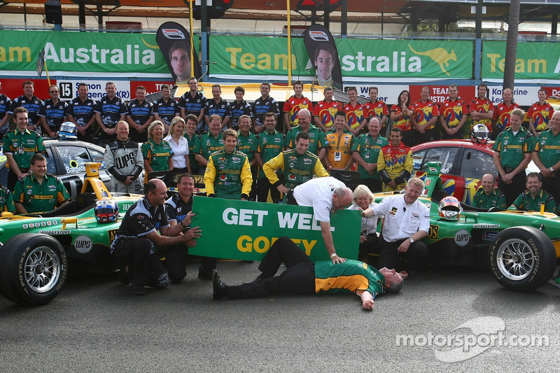 Shooting photo du Team Australia
