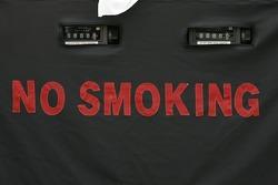 No smoking at the refuel station