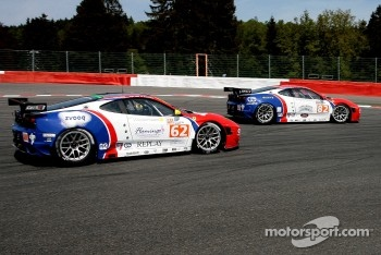 The CRS Racing Ferrari F430s