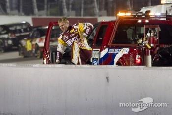 Clint Bowyer, Richard Childress Racing Chevrolet crashes
