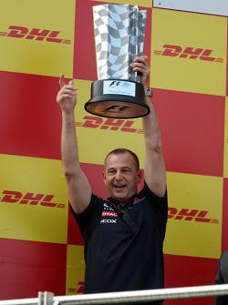 Podium: Mark Ellis, Red Bull Racing