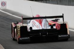 #12 Rebellion Racing Lola B10/60 Coupe Toyota: Николя Прост, Нил Джани