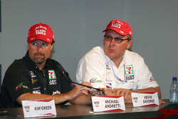 Michael Andretti and Kevin Savoree