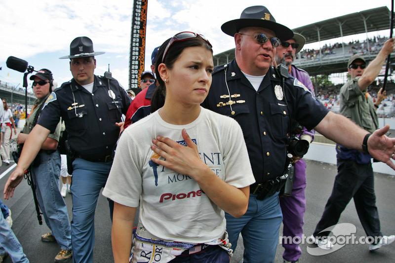 Danica Patrick nach dem Rennen