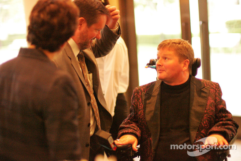 Sam Schmidt talks with Rick Klein