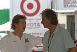 Ryan Briscoe and Arie Luyendyk