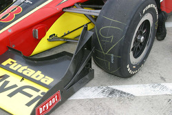 The new front wing
