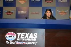 Danica Patrick press conference