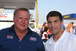 A.J. Foyt and David Starr