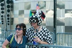 Indy 500 fans