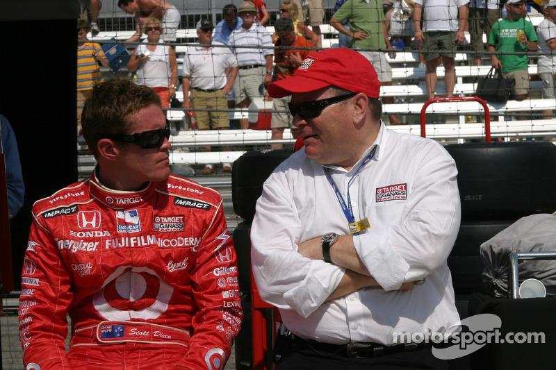 Scott Dixon et Chip Ganassi