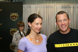 Ashley Judd and Lance Armstrong