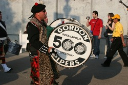 The Gordon Pipers, a Speedway Tradition