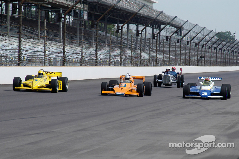 Vintage racers: A classic slips into the second row...are the old timers gaining?