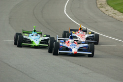 Marco Andretti, Jeff Simmons and Danica Patrick