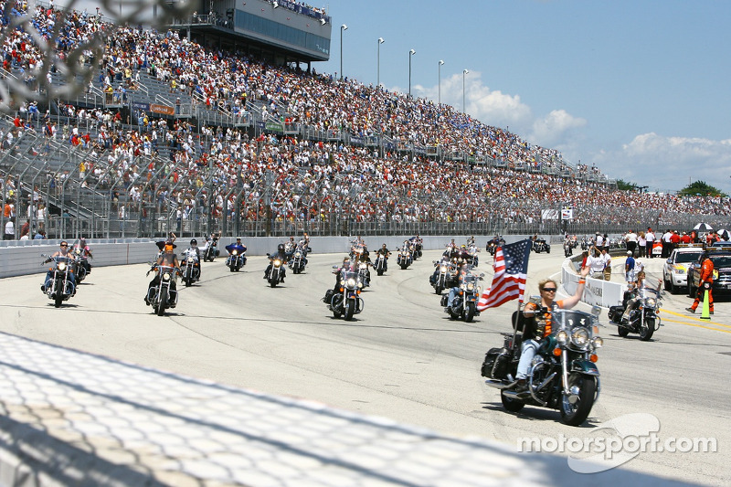 Parade de Harley Davidson