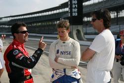 Michael Andretti, Marco Andretti and Bryan Herta
