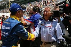 John Andretti with father Aldo