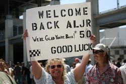 Message for Al Unser Jr.