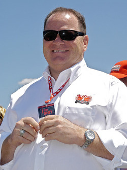 Chip Ganassi started smiling early