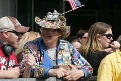 An Indy 500 fan