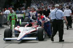 Car of Alex Lloyd, Dale Coyne Racing