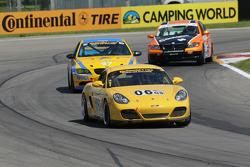 #06 Noble Racing Porsche Cayman: Baron Jacobs, Michael Iapaluccio