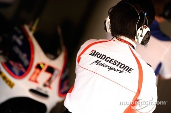 Bridgestone technician
