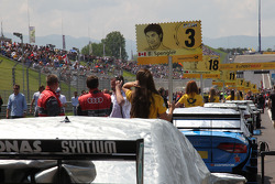 The Grid on the Red Bull Ring