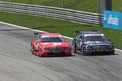 Renger van der Zande, Persson Motorsport, Mercedes C-Klasse, Gary Paffett, Team HWA AMG Mercedes C-Klasse
