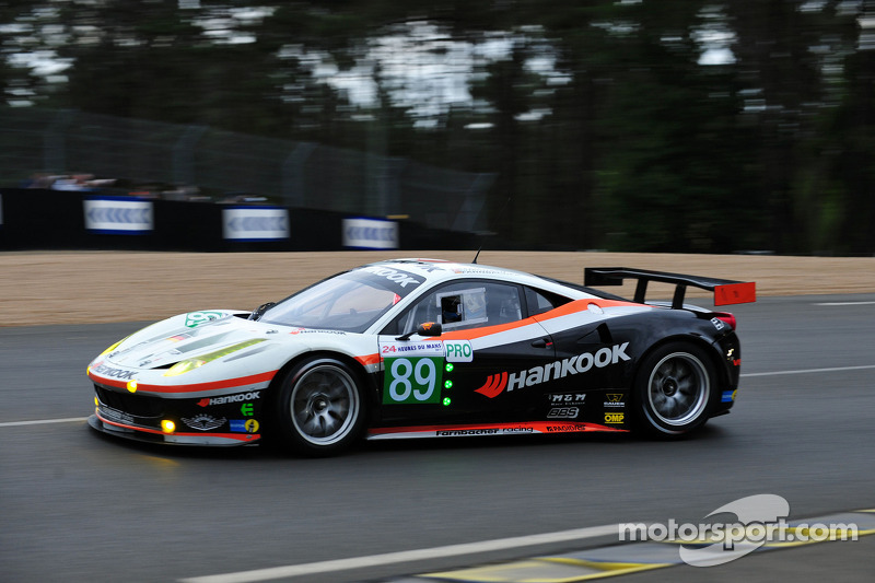 #89 Hankook - Team Farnbacher Hankook Ferrari 458 Italia: Dominik Farnbacher, Allan Simonsen, Leh Keen