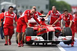 Scuderia Ferrari on pitlane