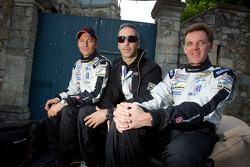 Christophe Bouchut, Joao Barbosa and Scott Tucker