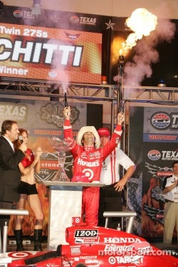 Dario Franchitti, Target Chip Ganassi Racing celebrates