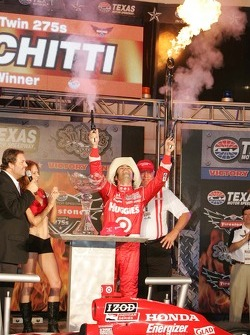 Dario Franchitti, Target Chip Ganassi Racing celebrates
