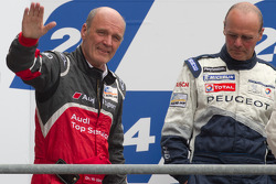 LM P1 podium: Dr. Wolfgang Ullrich and Olivier Quesnel